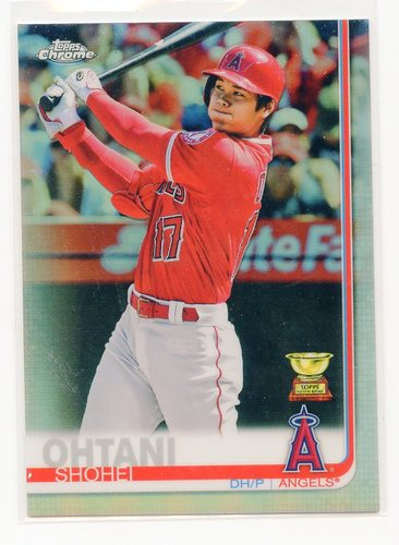Photo of 2019 Topps Chrome Refractors #1 Shohei Ohtani