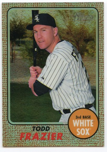 Photo of 2017 Topps Heritage Chrome Refractors #THC435 Todd Frazier