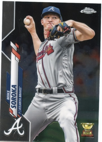 Photo of 2020 Topps Chrome #96 Mike Soroka