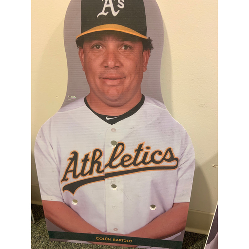 Photo of Oakland A's Community Fund: Bartolo Colon Coliseum Cutout
