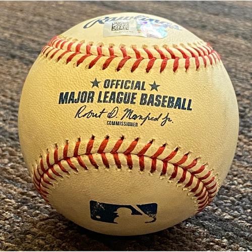 Photo of Teoscar Hernandez: Baseball - Game Used (RBI Double)