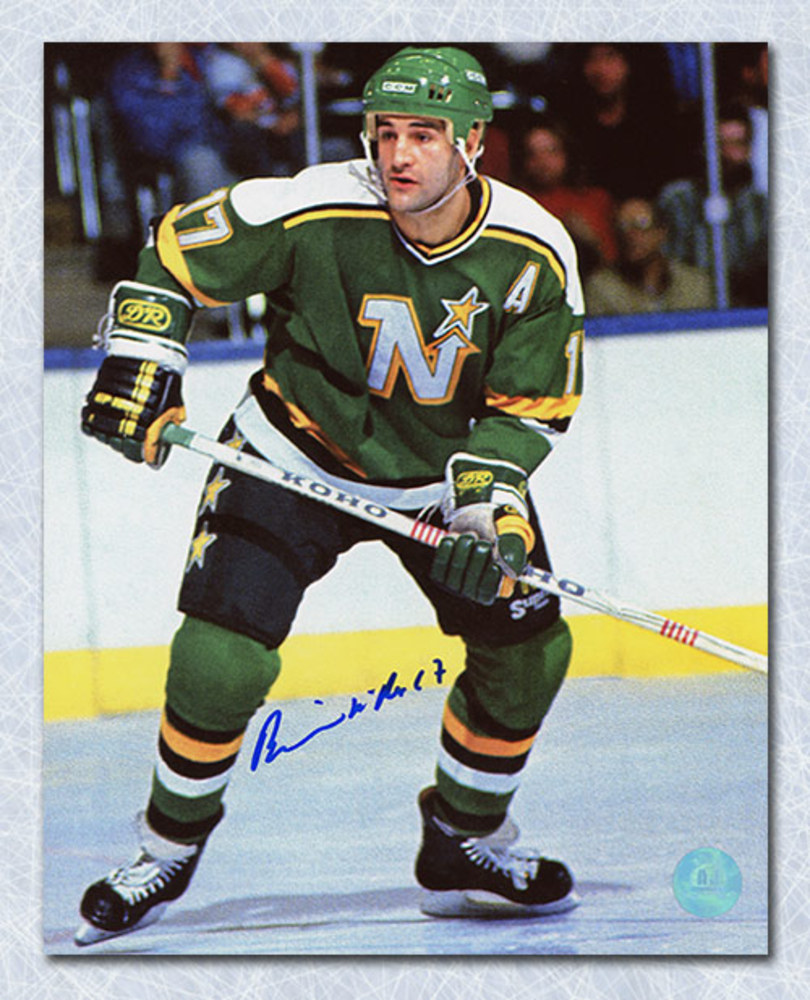 Basil Mcrae Minnesota North Stars Autographed 8x10 Photo