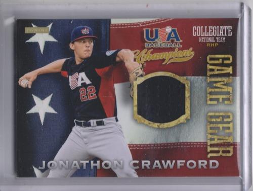 Photo of 2013 USA Baseball Champions Game Gear Jerseys #30 Jonathon Crawford
