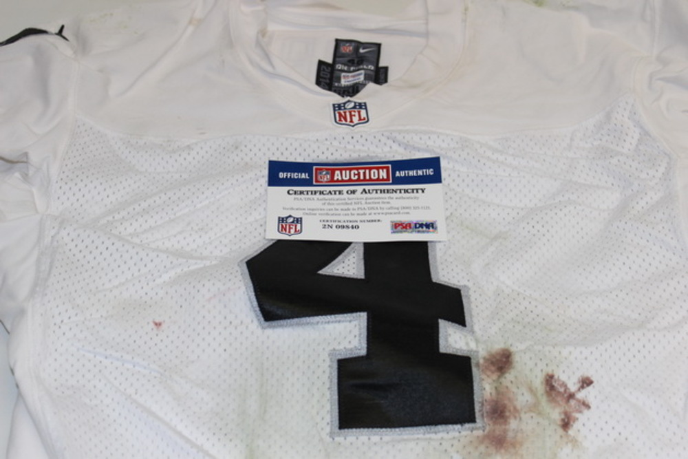 free shipping ee830 5ebc0 derek carr jersey authentic