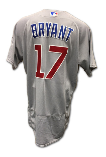 half off 854ef 8d37d MLB Auctions | Kris Bryant Game-Used Jersey -- Bryant 2016 ...