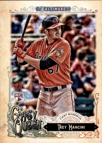 Photo of 2017 Topps Gypsy Queen #260 Trey Mancini Rookie Card