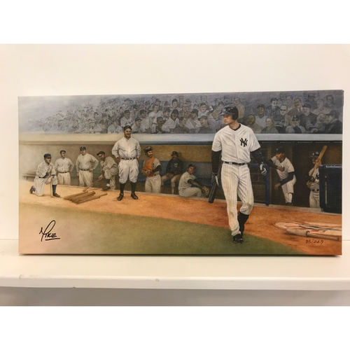 Photo of Yankee Proud - Limited Edition Canvas Print by Mike Kupka - New York Yankees