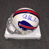 Bills - Steven Hauschka signed Bills mini helmet