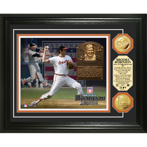 Photo of Brooks Robinson Baseball HOF Gold Coin Photo Mint