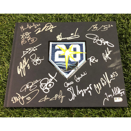 Photo of 20th Anniversary Tampa Bay Rays Autographed Book - 2008 ALCS Champions Autographs