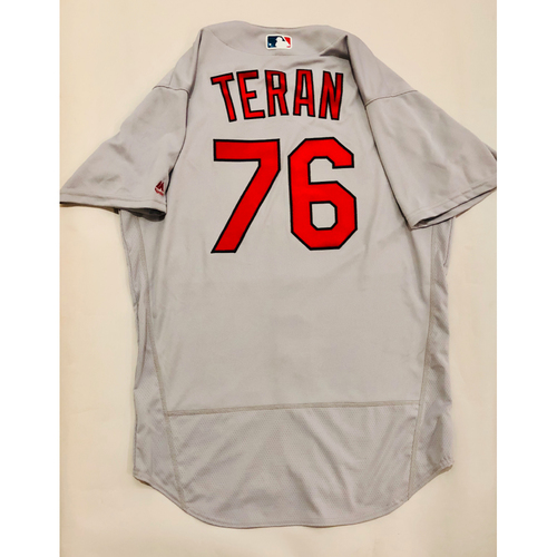 Photo of 2019 Mexico Series Game Used Jersey - Kleininger Teran Size 46 (St. Louis Cardinals)
