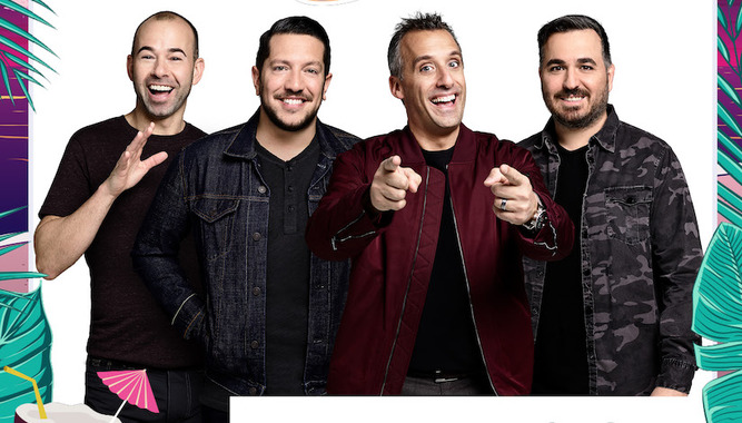4TH ANNUAL TRU (IMPRACTICAL) JOKERS CRUISE STARRING THE TENDERLOINS COMEDY TROUPE