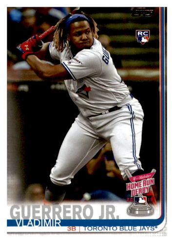 Photo of 2019 Topps Update #US272 Vladimir Guerrero Jr. Rookie Card Home Run Derby