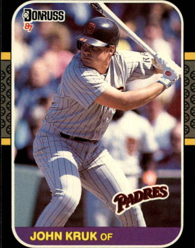 Photo of 1987 Donruss #328 John Kruk RC