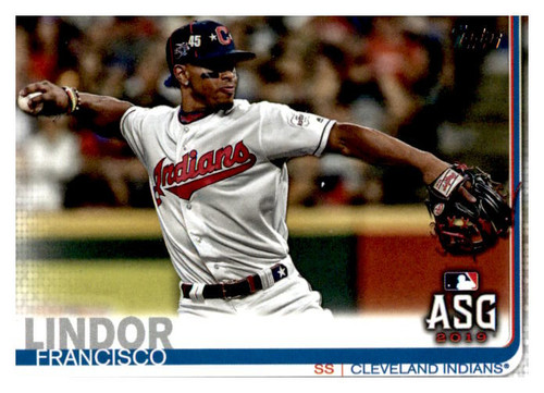 Photo of 2019 Topps Update #US293 Francisco Lindor AS