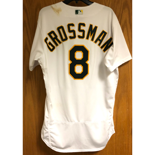 Photo of Game-Used 2019 Atleticos Jersey - Robbie Grossman