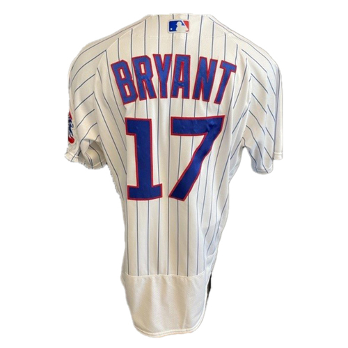 Photo of Kris Bryant Game-Used Jersey -- Padres vs. Cubs -- 6/2/21 -- Features ALS Patch -- Size 46T +0.5S