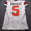 London Games - Browns Zane Gonzalez Game Used Jersey (10/29/17) Size 40
