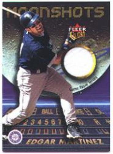 Photo of 2003 Ultra Moonshots Memorabilia #EM Edgar Martinez Jsy