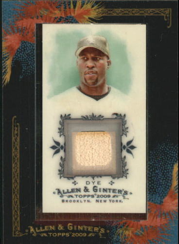 Photo of 2009 Topps Allen and Ginter Relics #JD Jermaine Dye Bat C