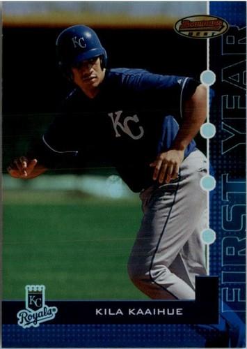 Photo of 2005 Bowman's Best Blue #88 Kila Kaaihue FY