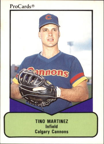 Photo of 1990 ProCards AAA #124 Tino Martinez