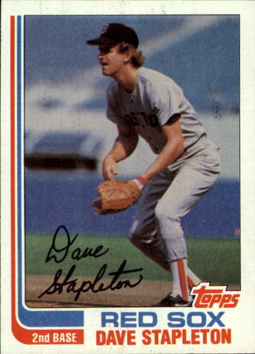Photo of 1982 Topps #589 Dave Stapleton
