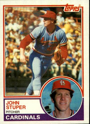 Photo of 1983 Topps #363 John Stuper