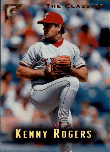 Photo of 1996 Topps Gallery #72 Kenny Rogers