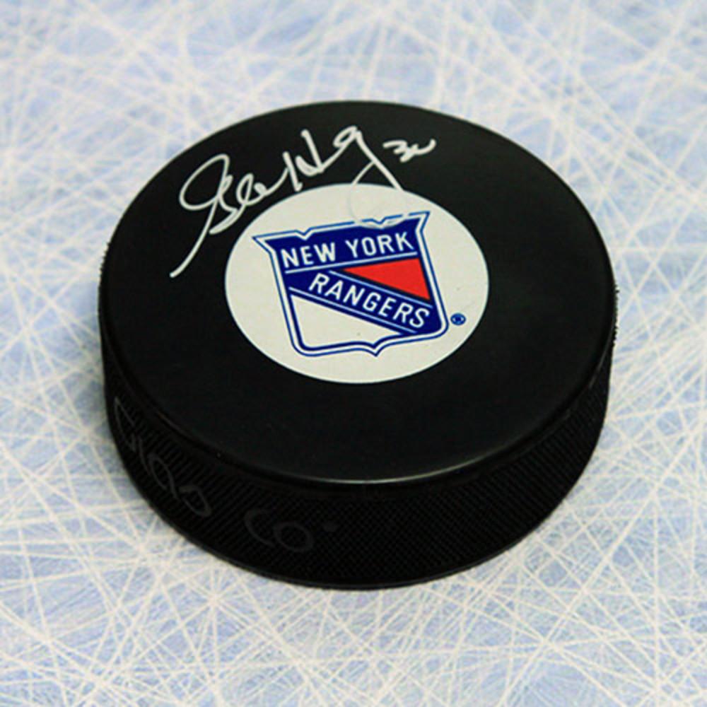 Glenn Healy New York Rangers Autographed Hockey Puck