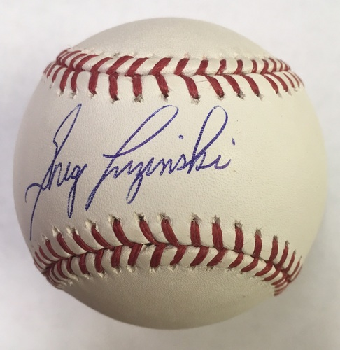 Photo of Greg Luzinski Autographed Baseball