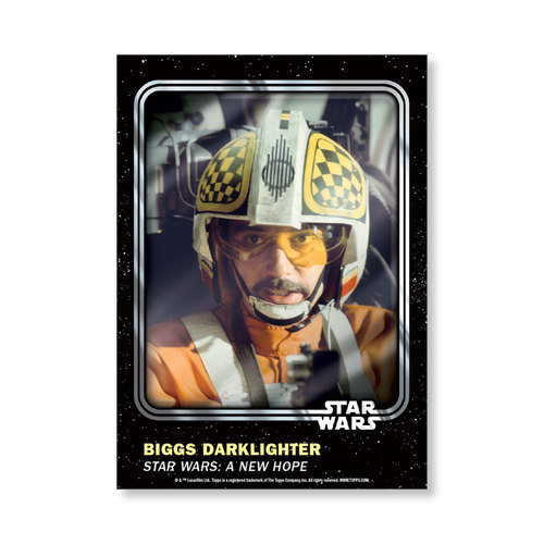Biggs Darklighter 2016 Star Wars Card Trader Base Poster - # to 99