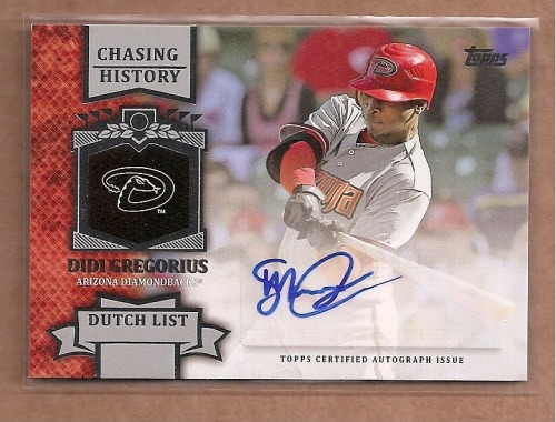 Photo of 2013 Topps Chasing History Autographs Didi Gregorius