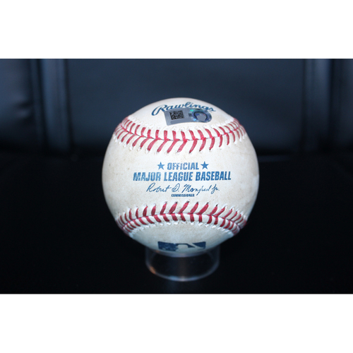 Game-Used Baseball: Mike Moustakas 27th Home Run of 2017 (CWS at KC - 7/22/17)