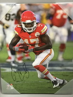 CHIEFS - CHRIS CONLEY SIGNED 16X20 CANVAS PRINT