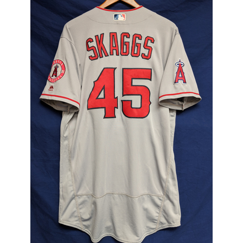 Photo of Tyler Skaggs Team-Issued Road Jersey