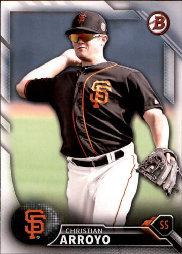 Photo of 2016 Bowman Draft #BD126 Christian Arroyo -- Ranked #81 of MLB's Top 100 Prospects
