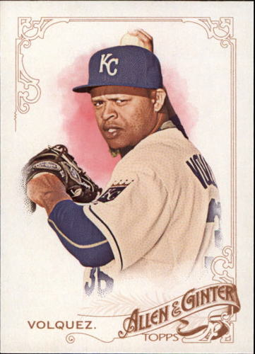 Photo of 2015 Topps Allen and Ginter #224 Edinson Volquez