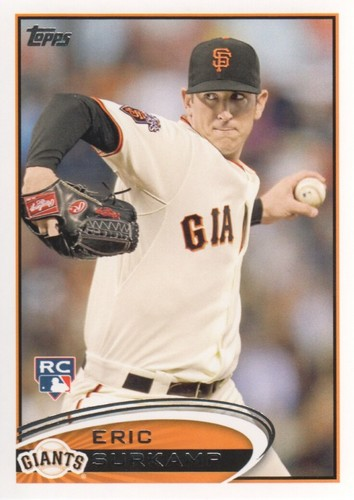 Photo of 2012 Topps #459 Eric Surkamp RC