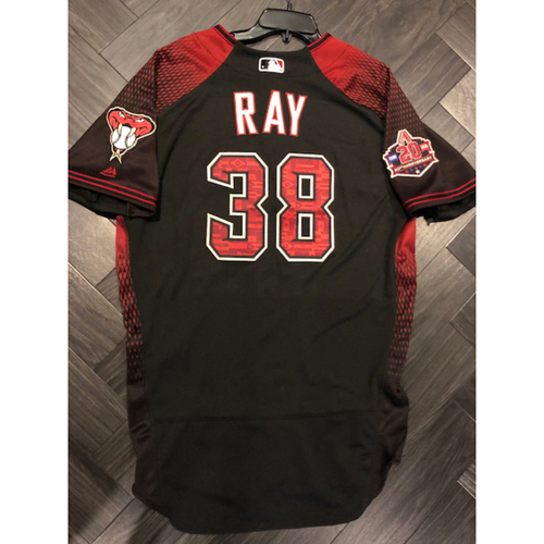 Photo of 2018 Game-Used Jersey - 2017 All Star #38 Robbie Ray