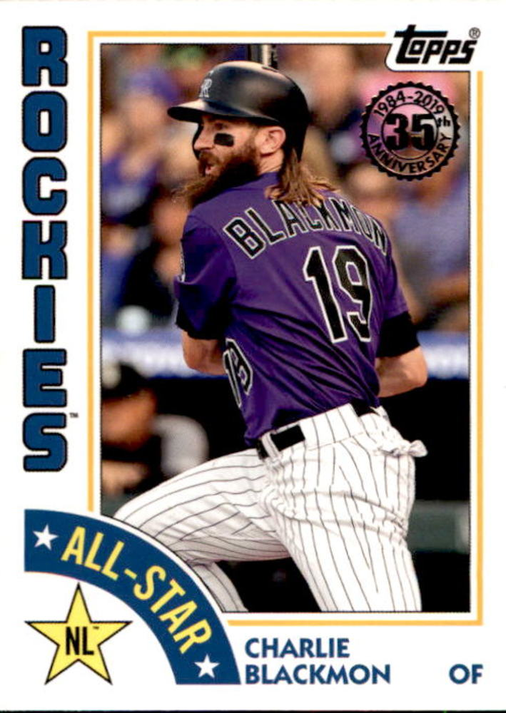 2019 Topps '84 Topps All Stars #84ASCB Charlie Blackmon