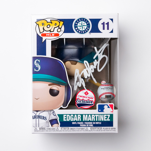 Mariners Care: Autographed Edgar Martinez Funko Pop