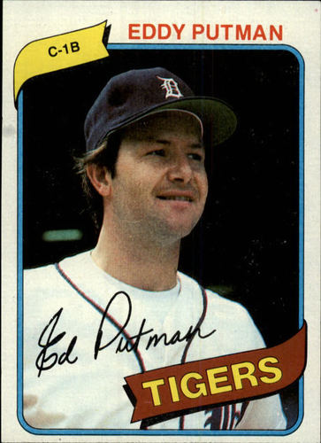 Photo of 1980 Topps #59 Eddy Putman RC