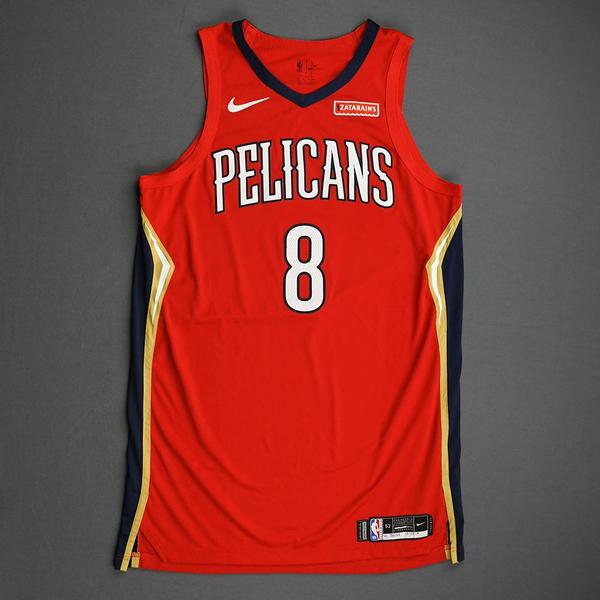 Image of Jahlil Okafor - New Orleans Pelicans - Christmas Day' 19 - Game-Worn Statement Edition Jersey
