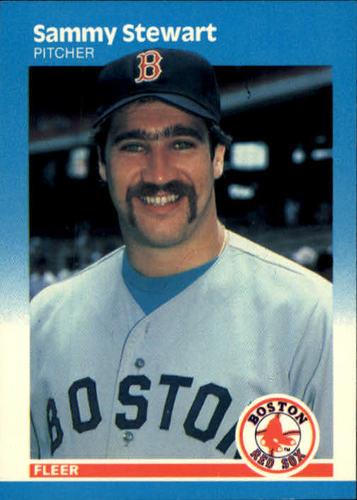 Photo of 1987 Fleer #48 Sammy Stewart