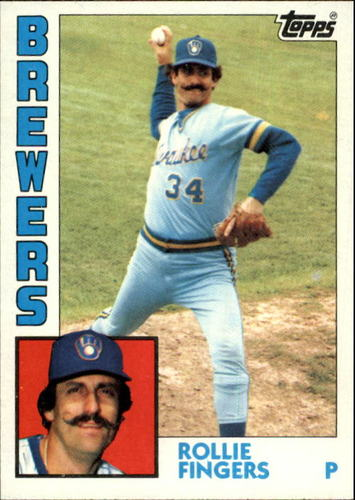 Photo of 1984 Topps #495 Rollie Fingers