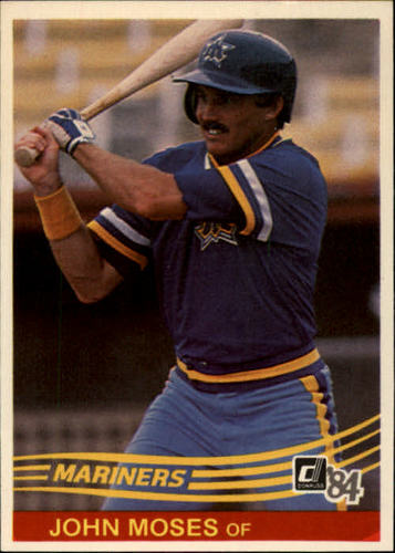 Photo of 1984 Donruss #74 John Moses