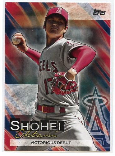 Photo of 2019 Topps Update Shohei Ohtani Highlights #SO5 Shohei Ohtani