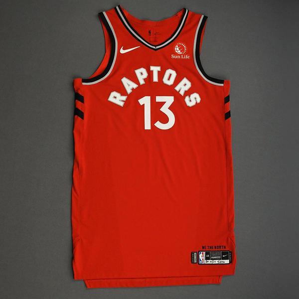 Image of Malcolm Miller - Toronto Raptors - Game-Worn Icon Edition Jersey - NBA Japan Games - 2019-20 NBA Season