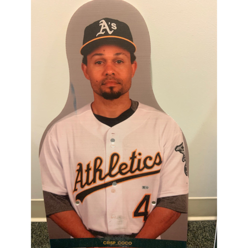 Photo of Oakland A's Community Fund: Coco Crisp Coliseum Cutout
